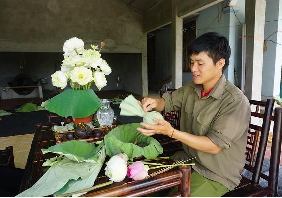 Lê Son Hai et sa marque de thé organique - ảnh 3