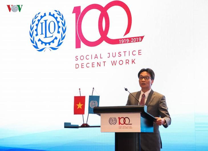 100 ans de l'OIT, la pensée de Hô Chi Minh sur le travail et la sécurité sociale - ảnh 1