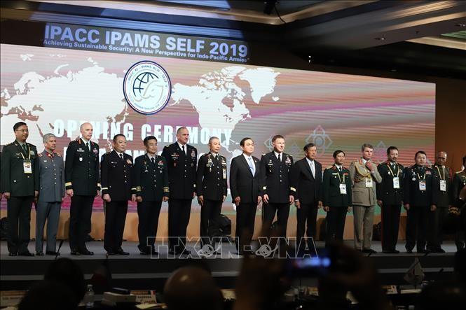 Pembukaan Konferensi Panglima Angkatan Darat Indo-Pasifik dan konferensi-konferensi yang bersangkutan - ảnh 1