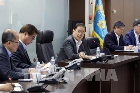Tirs nord-coréens : le NSC fait part de ses «fortes préoccupations» - ảnh 1