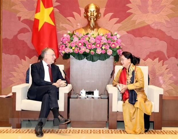 Bernd Lange salue la préparation du Vietnam pour l'EVFTA et l'EVIPA - ảnh 1