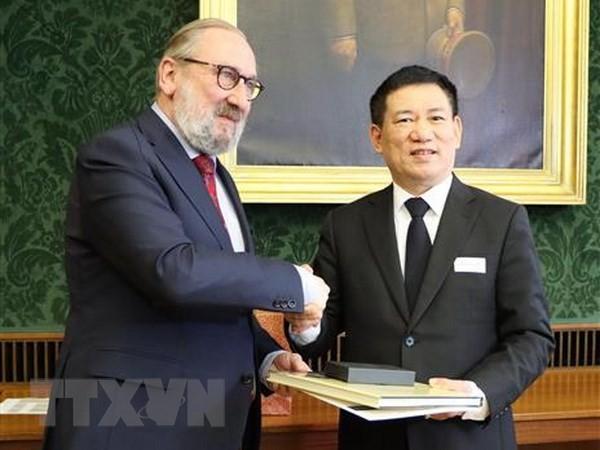 Le Vietnam et la Belgique renforcent leur coopération dans l'audit - ảnh 1