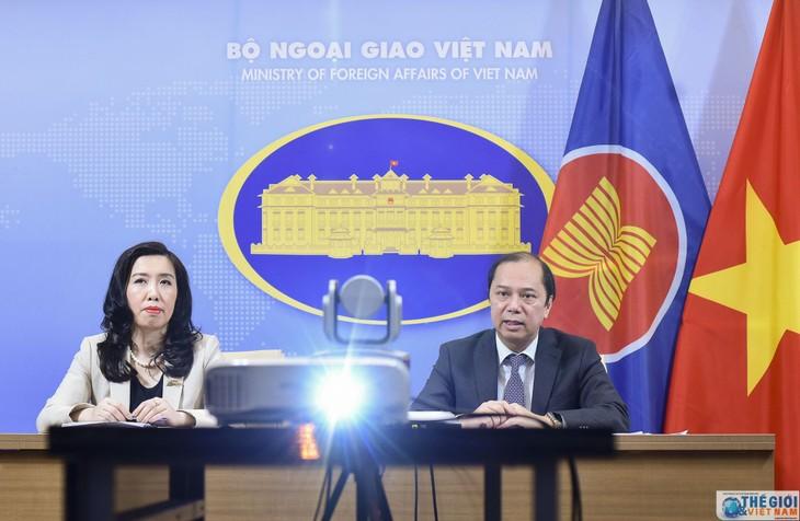 Conférence de presse du ministère des Affaires étrangères du 9 avril - ảnh 1