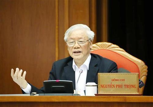 Nguyên Phu Trong souligne l'importance de la sélection des cadres dirigeants du pays - ảnh 1
