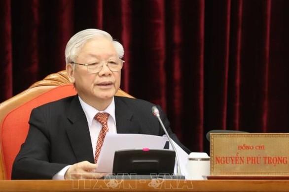 Clôture du 15e plénum du Comité central du Parti communiste vietnamien - ảnh 1