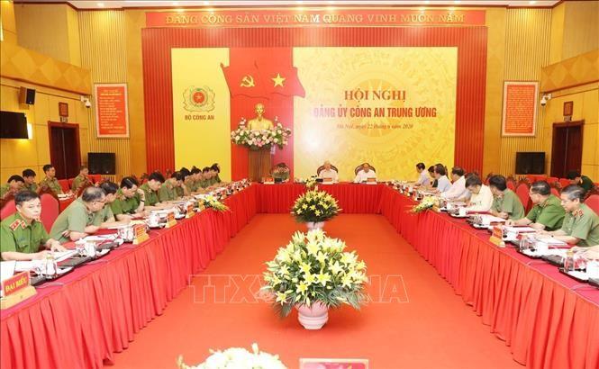 Nguyên Phu Trong travaille avec le ministère de la Sécurité publique - ảnh 1