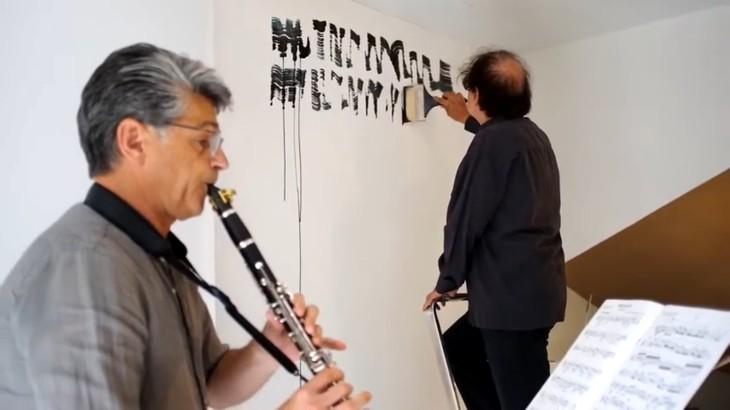 «Je peignais toujours en musique. Je peins maintenant la musique» - ảnh 3