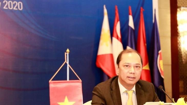 Le Vietnam élabore la stratégie de développement de l'ASEAN avec vision 2025 - ảnh 1