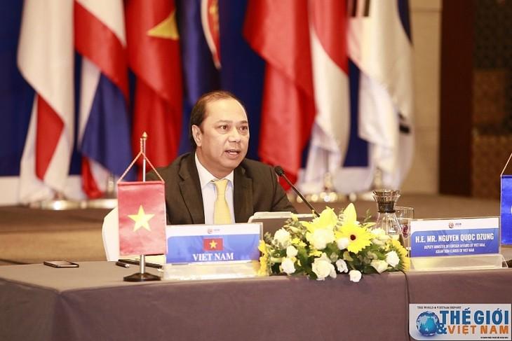 Visioconférence des hauts officiels de l'ASEAN + 3 - ảnh 1