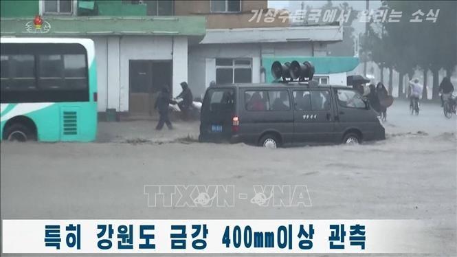 Des bénévoles de la Croix-Rouge aident Pyongyang à faire face au coronavirus et aux inondations - ảnh 1