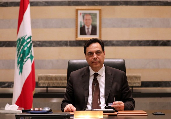 Le Premier ministre libanais, Hassan Diab, annonce la démission de son gouvernement - ảnh 1