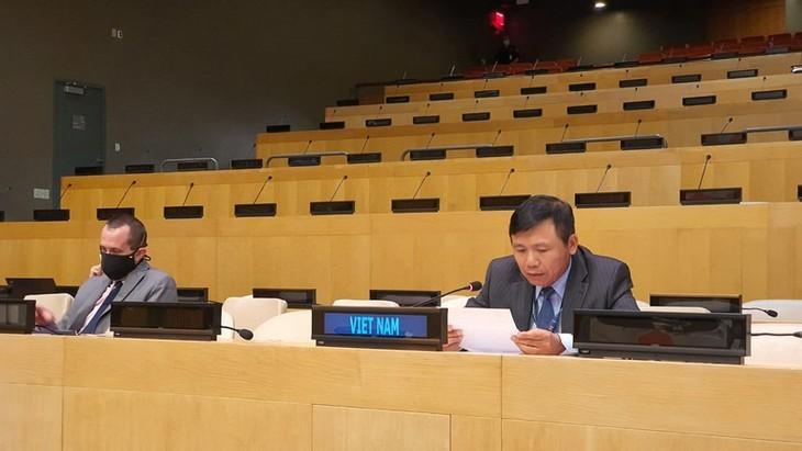 Le Vietnam à une séance de discussion sur la Guinée-Bissau  - ảnh 1