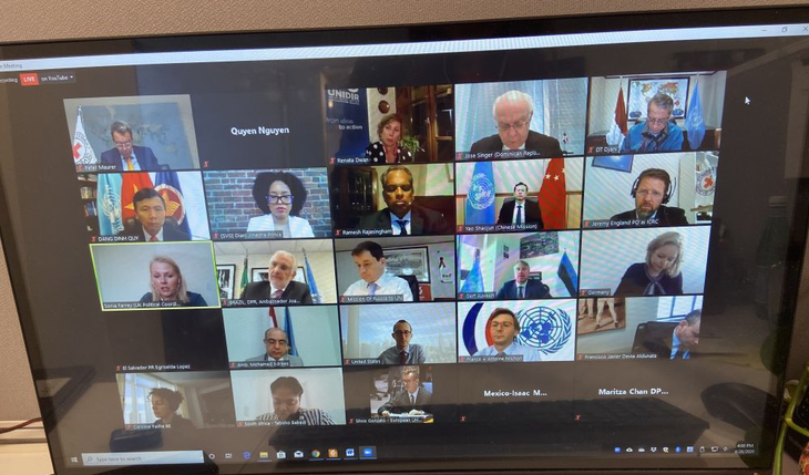 Débat du Conseil de sécurité sur la protection des infrastructures vitales des cyberattaques - ảnh 1