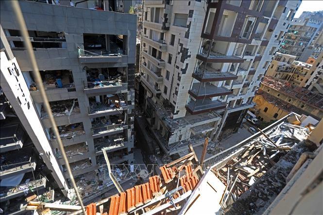 Explosions à Beyrouth: Les pertes pourraient s'élever à plus de 8 milliards de dollars - ảnh 1