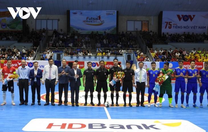 Coup d'envoi de la coupe nationale Futsal HDBank 2020 - ảnh 1