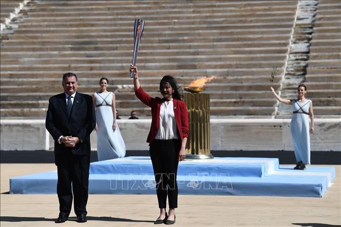 JO de Tokyo: le départ de la flamme olympique se déroulera sans spectateurs - ảnh 1