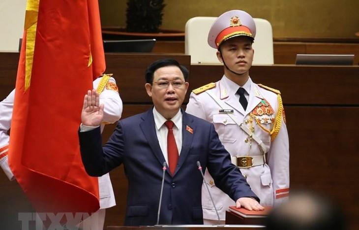 Messages de félicitation à Vuong Dinh Huê - ảnh 1