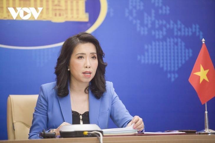 Le Vietnam demande à Taïwan (Chine) de mettre fin à ses exercices militaires autour de l'île de Ba Binh - ảnh 1