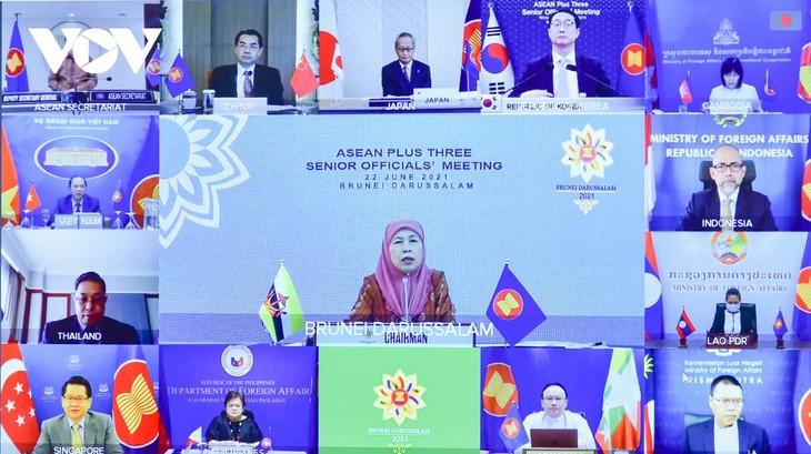 ASEAN+3 s'applique à assurer l'accès équitable aux vaccins anti-Covid-19 - ảnh 1