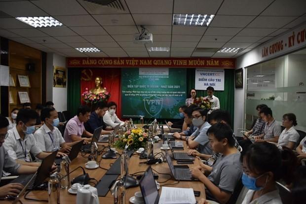 Cyberdéfense: le Vietnam participe à l'exercice ASEAN-Japon 2021 - ảnh 1