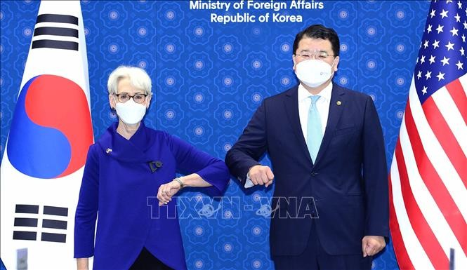 Dialogue stratégique entre la République de Corée et les États-Unis - ảnh 1