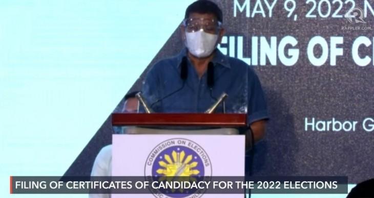 Philippines: le président Rodrigo Duterte veut se retirer de la politique - ảnh 1