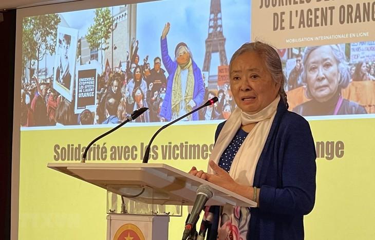 Le Collectif Vietnam Dioxine accompagne les victimes de l'Agent Orange - ảnh 1