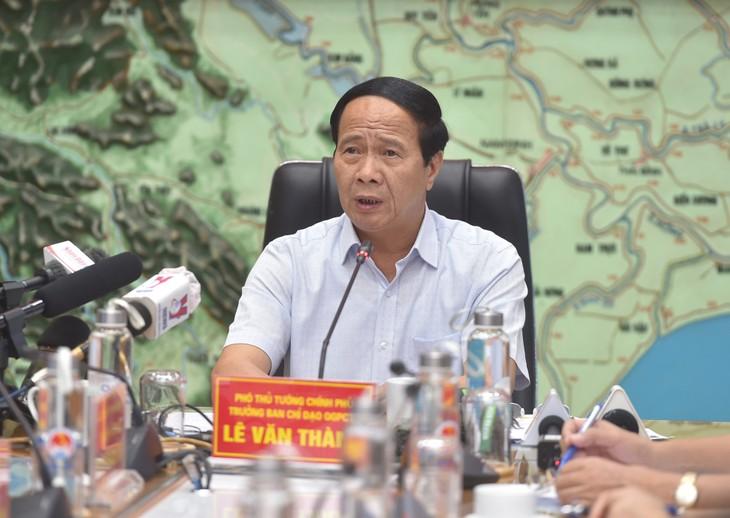 Typhon Kompasu: Garantir la sécurité des habitants - ảnh 1