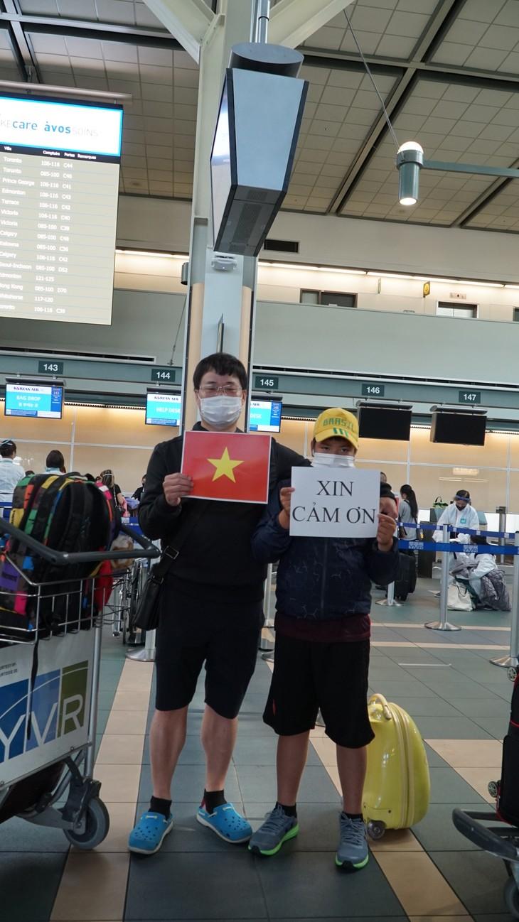 Đưa 264 công dân Việt Nam từ Canada về nước - ảnh 15