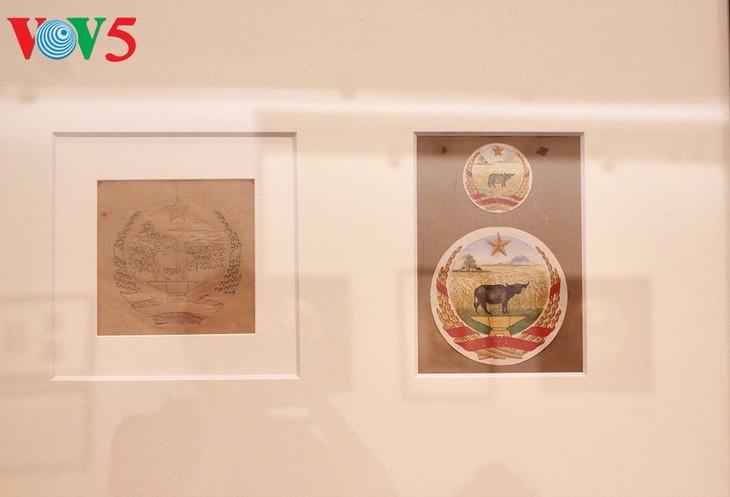 Triển lãm về sự ra đời của Quốc huy Việt Nam tại Hà Nội - ảnh 12