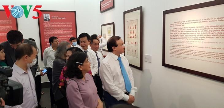 Triển lãm về sự ra đời của Quốc huy Việt Nam tại Hà Nội - ảnh 1
