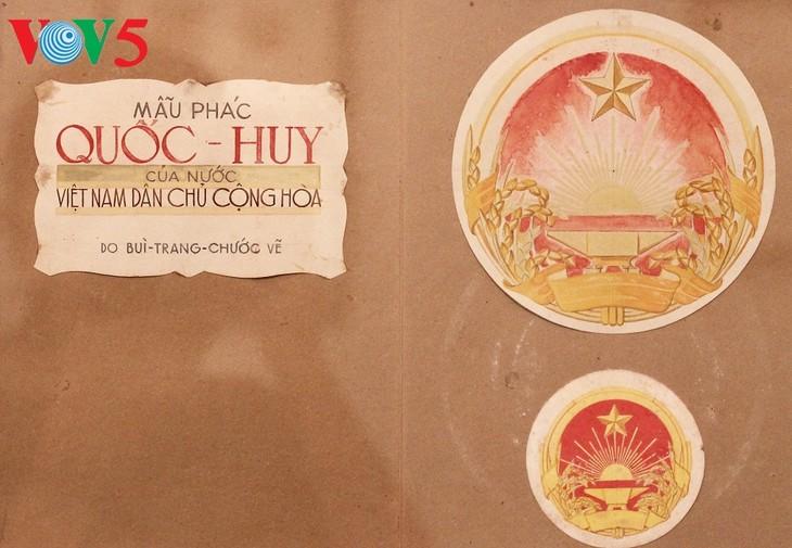 Triển lãm về sự ra đời của Quốc huy Việt Nam tại Hà Nội - ảnh 8