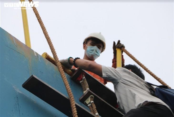 """Bóng hồng Việt đầu tiên """"xông pha"""" vào buồng máy tàu biển, sẵn sàng vượt Đại Tây Dương - ảnh 3"""