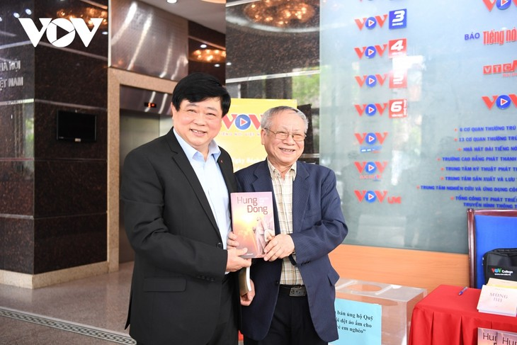 """VOV tổ chức """"Tuần lễ sách 2021"""" tôn vinh giá trị của sách và lan tỏa văn hóa đọc - ảnh 5"""