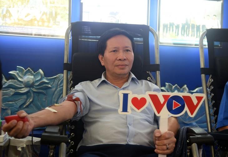 VOV tổ chức chương trình hiến máu tình nguyện, lan tỏa yêu thương  - ảnh 4