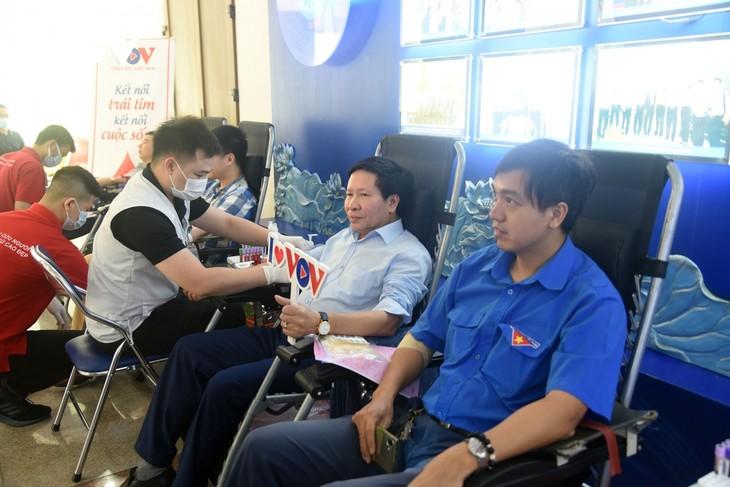 VOV tổ chức chương trình hiến máu tình nguyện, lan tỏa yêu thương  - ảnh 3