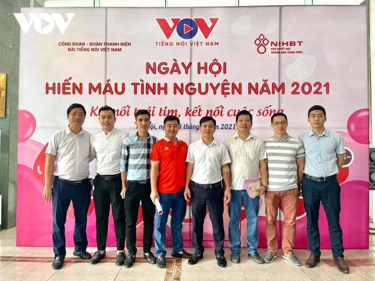 VOV tổ chức chương trình hiến máu tình nguyện, lan tỏa yêu thương  - ảnh 14