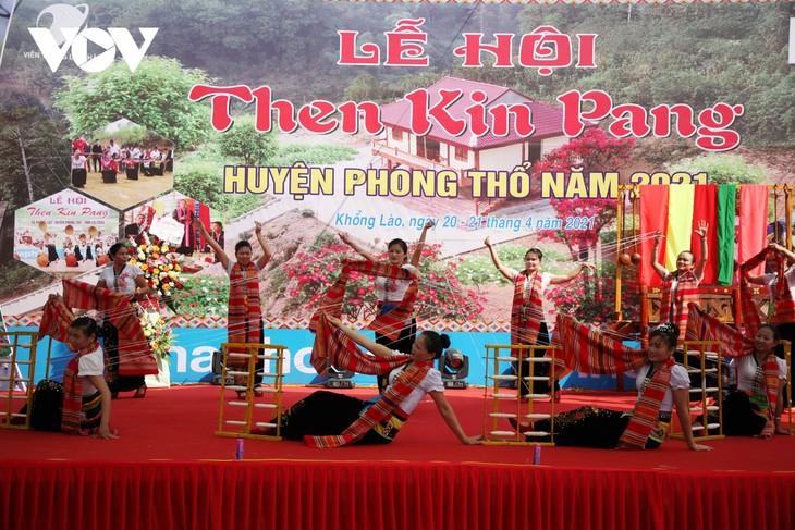 Sôi động lễ hội Then Kin Pang bên dòng Nậm Lụm - ảnh 3
