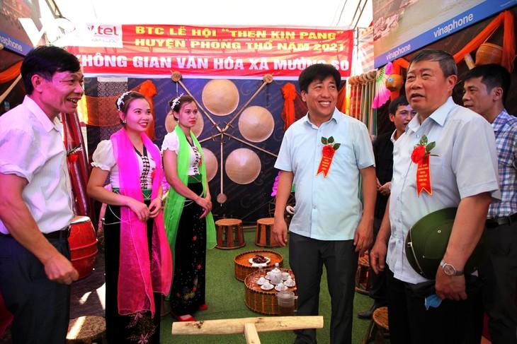 Sôi động lễ hội Then Kin Pang bên dòng Nậm Lụm - ảnh 8