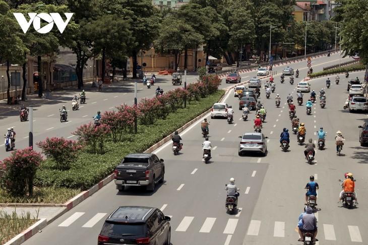 """Ngắm hoa tường vi khoe sắc trên con đường từng được mệnh danh """"đẹp nhất Việt Nam"""" - ảnh 13"""