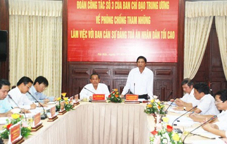 汚職防止対策中央指導委、汚職防止強化 - ảnh 1