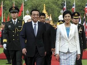 中タイ首脳会談、貿易拡大など合意  - ảnh 1