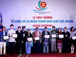 ASEANの代表的な青年に賞を授与 - ảnh 1