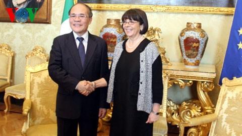 フン国会議長、イタリア訪問を継続 - ảnh 1