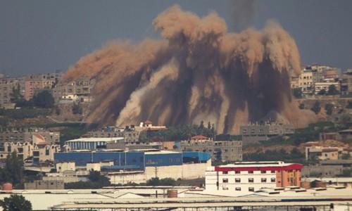 エジプト 停戦案提示も予断許さず - ảnh 1