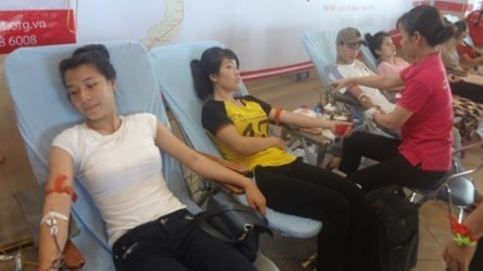 ハノイでの献血祭り始まる - ảnh 1