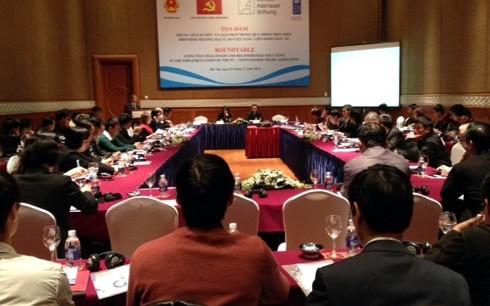 ベトナムとEUとのFTAの実施で座談会が行われる - ảnh 1