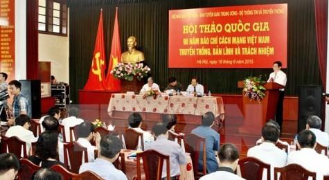 シンポジウム「ベトナム革命報道の90年間の道のり」 - ảnh 1