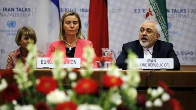 EU代表がイラン初訪問 合意で関係強化へ - ảnh 1