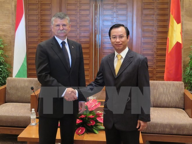 ハンガリー国民議会議員、ダナン市を訪問 - ảnh 1